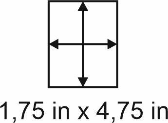 3mm zöllige Holzbase 1,75 x 4,75