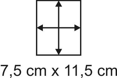 2mm Holzbase 7,5 x 11,5