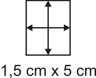 Eckbase 1,5x5 cm, 3mm dick