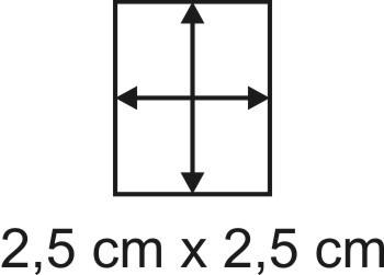 2mm Holzbase 2,5 x 2,5