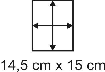 2mm Holzbase 14,5 x 15