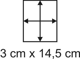 2mm Holzbase 3 x 14,5