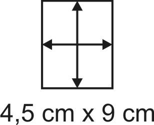 2mm Holzbase 4,5 x 9