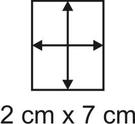 2mm Holzbase 2 x 7