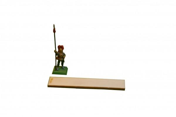 Regimentsbase 2,5 x 12,5