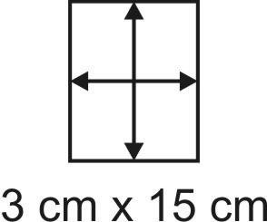 3mm Holzbase 3 x 15