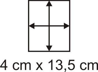 2mm Holzbase 4 x 13,5