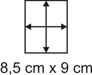 2mm Holzbase 8,5 x 9