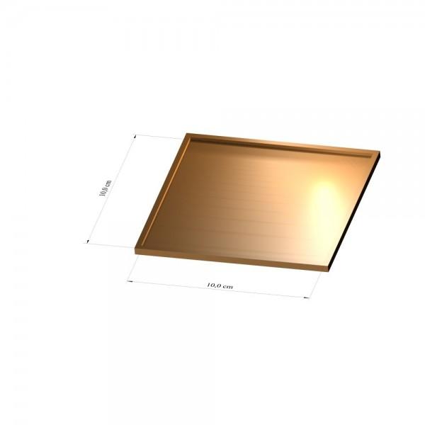 Tray 10 cm x 10 cm, 3mm