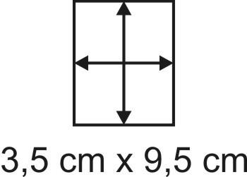 Eckbase 3,5x9,5 cm, 3mm dick