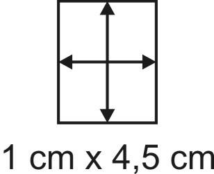 2mm Holzbase 1 x 4,5
