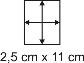 2mm Holzbase 2,5 x 11