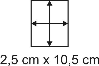 3mm Holzbase 2,5 x 10,5
