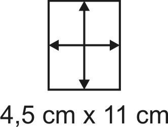 2mm Holzbase 4,5 x 11