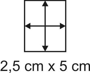 2mm Holzbase 2,5 x 5