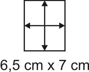 2mm Holzbase 6,5 x 7