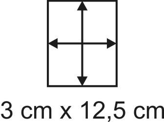 Eckbase 3x12,5 cm, 3mm dick