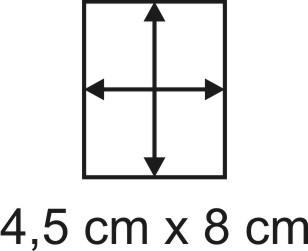 2mm Holzbase 4,5 x 8