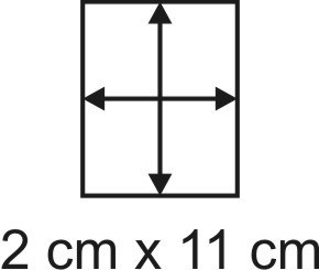 2mm Holzbase 2 x 11