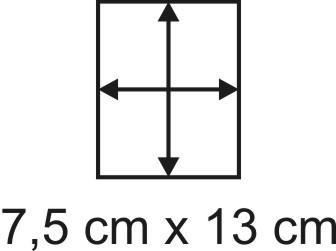 3mm Holzbase 7,5 x 13