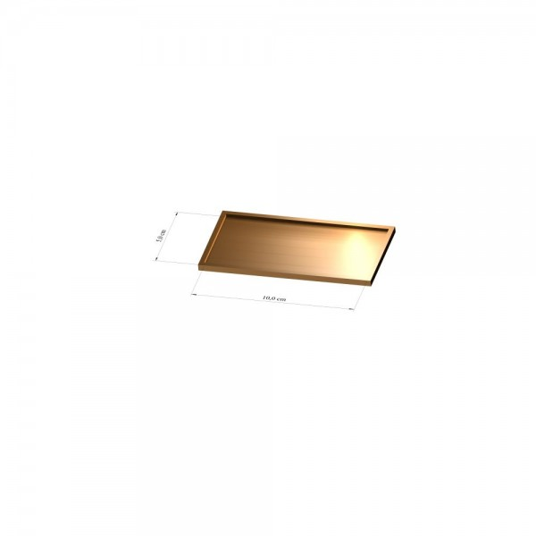 Tray 5 cm x 10 cm, 3mm