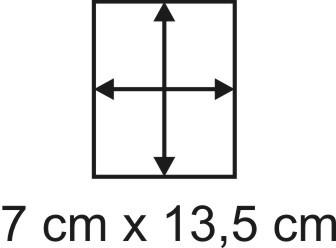 2mm Holzbase 7,5 x 13,5
