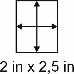 2mm zöllige Holzbase 2 x 2,5