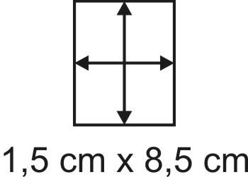 2mm Holzbase 1,5 x 8,5