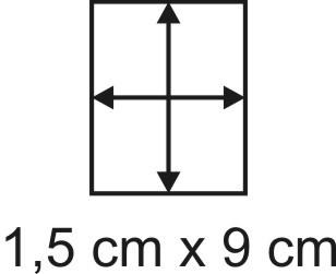 Eckbase 1,5x9 cm, 3mm dick