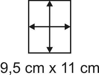 2mm Holzbase 9,5 x 11
