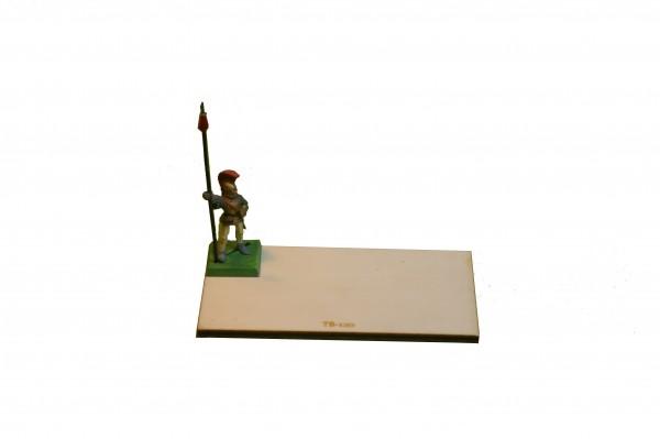 Regimentsbase 5,0 x 10,0