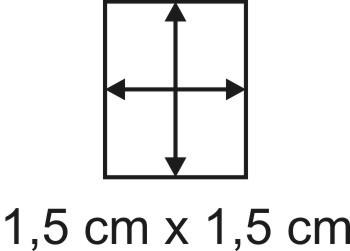 2mm Holzbase 1,5 x 1,5