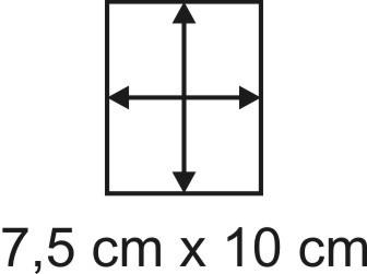 2mm Holzbase 7,5 x 10