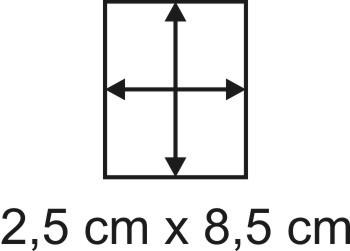 3mm Holzbase 2,5 x 8,5