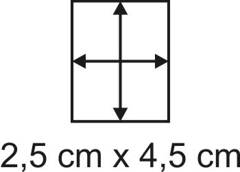 3mm Holzbase 2,5 x 4,5