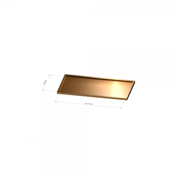 Tray 5 cm x 12,5 cm, 2mm