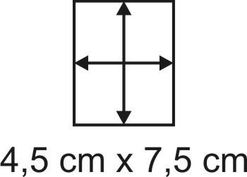 2mm Holzbase 4,5 x 7,5