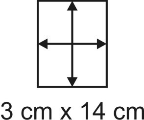3mm Holzbase 3 x 14