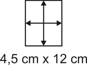 2mm Holzbase 4,5 x 12