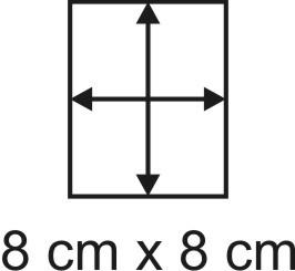 3mm Holzbase 8 x 8