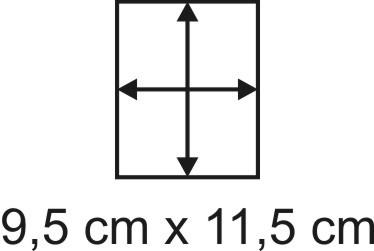 2mm Holzbase 9,5 x 11,5