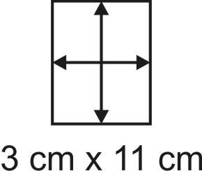 3mm Holzbase 3 x 11