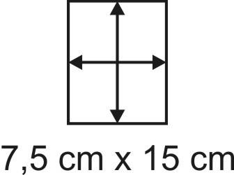 3mm Holzbase 7,5 x 15