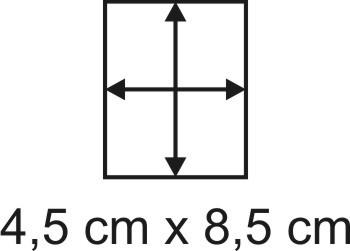 3mm Holzbase 4,5 x 8,5