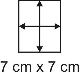 2mm Holzbase 7 x 7
