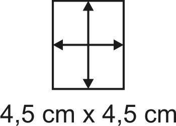Eckbase 4,5x4,5 cm, 3mm dick