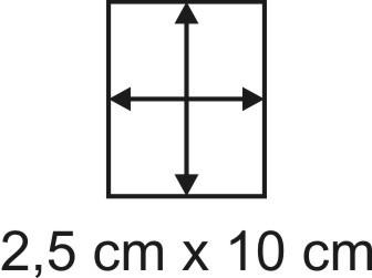 2mm Holzbase 2,5 x 10