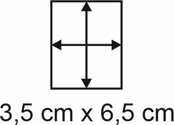 Eckbase 3,5x6,5 cm, 3mm dick