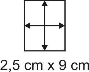 2mm Holzbase 2,5 x 9
