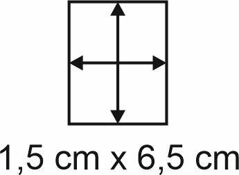 2mm Holzbase 1,5 x 6,5